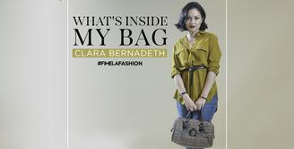 What's in My Bag Clara Bernadeth