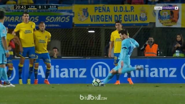 Lionel Messi telah mencetak lima gol dari sepakan bebas. This video is presented by Ballball.
