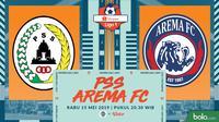 Shopee Liga 1 - PSS Sleman Vs Arema FC (Bola.com/Adreanus Titus)