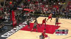 Berita video game recap NBA 2017-2018 antara Brooklyn Nets melawan Chicago Bulls dengan skor 124-96.
