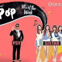 Simak Bintang K-Pop Hits of the Week kali ini yang lengkapi oleh SISTAR, PSY, TWICE dan Produce 101 Season 2. (Foto: justjared, soshistars.deviantart, classicluv.deviantart, Desain: Nurman Abdul Hakim/Bintang.com)