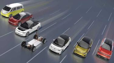 Volkswagen sudah pasang target untuk jadi pemimpin pasar mobil listrik (Carscoops)