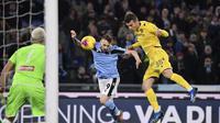 Lazio Main Imbang Lawan Hellas Verona (Alfredo Falcone/LaPresse via AP)
