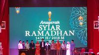 SCTV menyabet 2 kategori penghargaan dalam Anugerah Syiar Ramadhan 2018