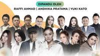 Malam Puncak HUT SCTV ke-30, Senin (24/8/2020) malam bersama sejumlah artis top LIVE mulai pukul 18.30 WIB