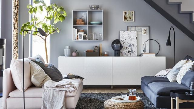 Desain Ruang Tamu Tanpa Kursi  biar lebih nyaman ini pilihan model sofa untuk ruang