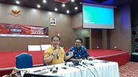 (Ki-ka) Menkominfo Rudiantara dan Dirjen SDPPI DR Ismail. Liputan6.com/Agustinus Mario Damar