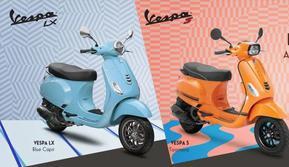 Vespa LX Series mendapat sentuhan warna baru. (Piaggio Indonesia)