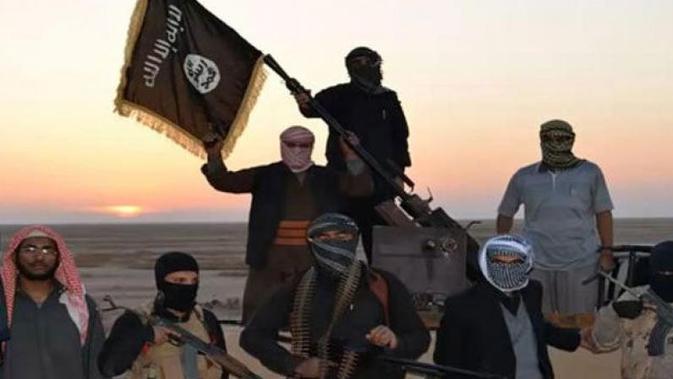 Ilustrasi militan ISIS (AFP)