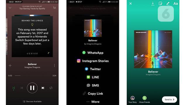Spotify Dan Gopro Kini Terhubung Ke Instagram Stories Tekno Liputan6 Com