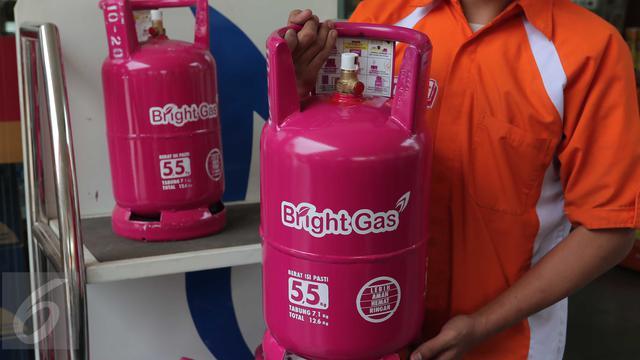 Meluncur Hari Ini Bright Gas 5 5 Kg Dijual Rp 66 Ribu Per Tabung Bisnis Liputan6 Com