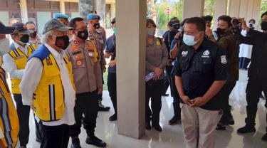 Menteri PUPR Basuki Basuki Hadimuljono Kunjungi Isoter Badiklat PU Kotagede