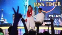 Debat Pilkada Jatim 2018. (Liputan6.com/Dian Kurniawan)