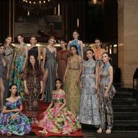 Phangsanny di Lucky Trend Fashion Show. (Dok. Lucky Trend)