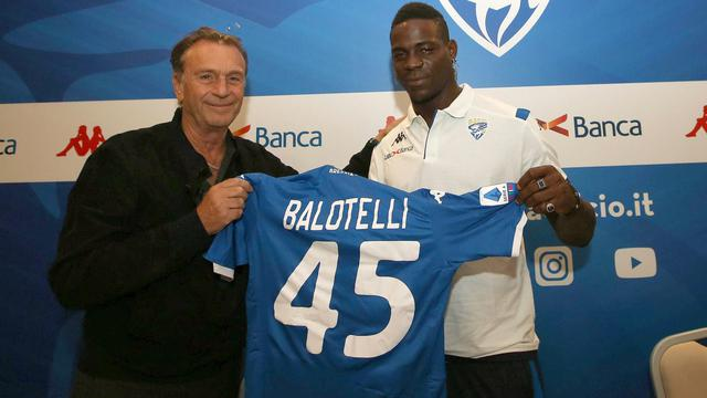 Mario Balotelli Resmi Diperkenalkan Brescia