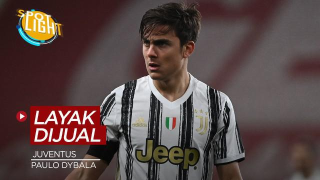 Berita video spotlight kali ini tentang deretan pemain Juventus yang layak untuk dijual pada musim panas 2021, salah satunya ialah Paulo Dybala.