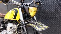 Yamaha Scorpio Scrambler yang mendapat julukan 'Bumblebee' garapan Street Arts Custom telah dibeli Menaker Hanif dari tangan kedua (Street Arts)
