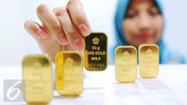 Harga Emas Antam Kini Di Posisi Rp 665 Ribu Per Gram Bisnis