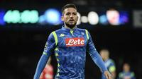 6. Dries Mertens (Napoli) - 7 gol dan 4 assist (AFP/Fillipo Monteforte)
