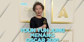 Youn Yuh Jung, Aktris Korea Pertama yang Menang di Oscar 2021