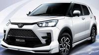 Toyota Raize dengan paket body kit Modellista. (Motor1)