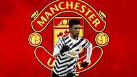 Manchester United - Jadon Sancho (Bola.com/Adreanus Titus)