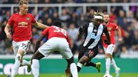 Manchester United takluk 0-1 dari Newcastle United pada laga pekan kedelapan Premier League, di St James' Park, Minggu (6/10/2019) malam WIB. (AFP/Paul Ellis)
