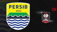 Logo Persib Bandung. (Bola.com/Dody Iryawan)