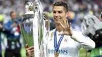 Bomber Real Madrid, Cristiano Ronaldo (AP/Pavel Golovkin)