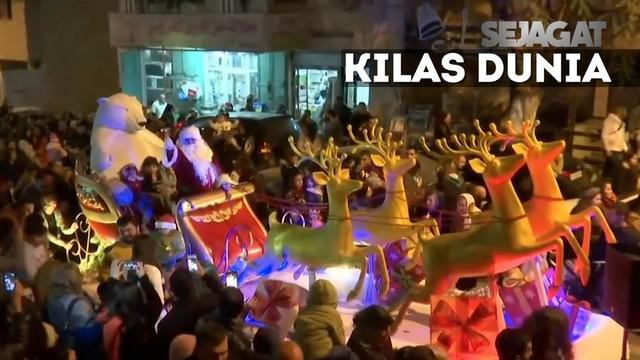 Sebuah bom meledak di Mesir dan menewaskan 25 orang. Kemeriahan parade natal di kota kelahiran Yesus, Betlehem.