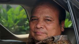 Mantan Ketua PPATK, Yunus Husein usai menjadi pembicara internal pegawai KPK di gedung KPK, Jakarta, Senin (30/4). Yunus menjadi pembicara tentang tindak pidana pencucian uang (TPPU) indikasi perputaran uang di pasar modal. (Merdeka.com/Dwi Narwoko)