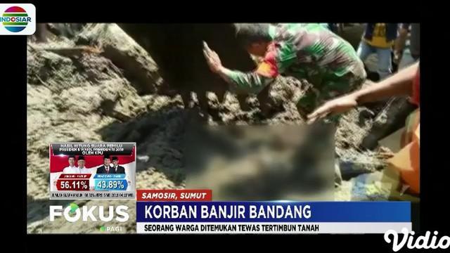 Petugas gabungan dari Basarnas dan BPBD harus menggunakan alat berat untuk bisa mengevakuasi korban.