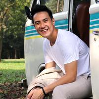 Daniel Mananta mengaku bahwa pekerjaan barunya ini untuk mencari tantang lain di sela-sela kekosongan waktu sehabis Ramadan. (Galih W. Satria/Bintang.com)