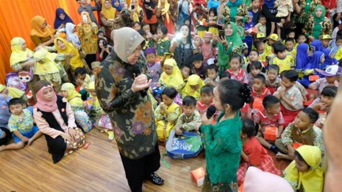 Wali Kota Surabaya Tri Rismaharini (Foto:/Dian Kurniawan)