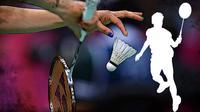 Ilustrasi Badminton (Liputan6.com/Sangaji)