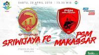 Liga 1 2018 Sriwijaya FC Vs PSM Makassar (Bola.com/Adreanus Titus)