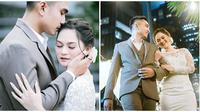Romantis, ini momen Lutfi Agizal dan Nadya Indri bak prewedding. (Sumber: Instagram/@windrafotografi)