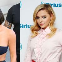 Chloe Grace Moretz hadir di sebuah acara televisi dan ditanya mengenai parfum yang diberikan oleh Kim Kardashian. (yahoo.com)