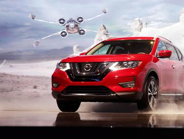 20161116-Nissan Pamerkan Mobil Edisi Star Wars di LA Auto Show-California