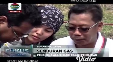 Sebuah semburan gas disertai keluarnya api terjadi di lahan milik PT. KAI Daop 8, Surabaya, tak jauh dari Stasiun Depo Kereta Lokomotif Sidotopo. Semburan gas dan api ini, sempat meresahkan warga yang tinggal di sekitar area tersebut.