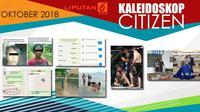 Banner Kaleidoskop Citizen Oktober 2018. (Liputan6.com/Triyasni)