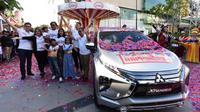Gelaran Xpander Tons of Real Happiness kini ada di Palembang, Sumatera Selatan, tepatnya di Palembang  Icon Mall, Jumat-Minggu, 23-25 November 2018. (Herdi Muuhardi)