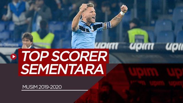 Top Scorer Sementara Liga Top Eropa. (Bola.com/Dody Iryawan)