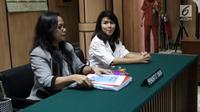 Kuasa Hukum Basuki Tjahaja Purnama (Ahok), Fifi Lety Indra menghadiri lanjutan sidang gugatan cerai di PN Jakarta Utara, Rabu (7/3). Sidang cerai yang dilayangkan Ahok terhadap Veronica Tan ini beragenda pemeriksaan saksi. (Liputan6.com/Arya Manggala)