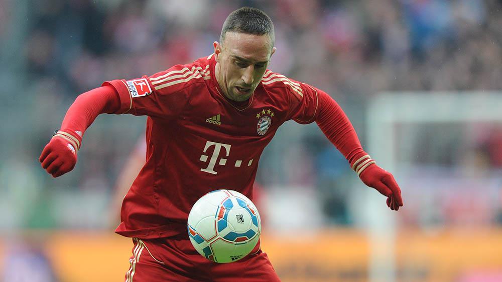 Bintang Bayern Munchen, Frank Ribery (AFP/Christof Stache)