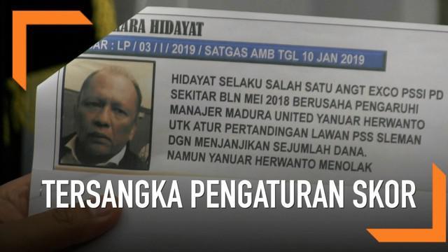 Satgas antimafia bola kembali menetapkan tersangka baru terkait pengaturan skor di Liga Indonesia.