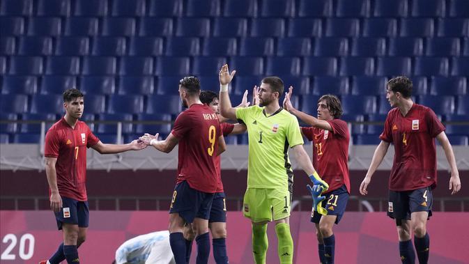 Hasil Sepak Bola Olimpiade Tokyo 2020 : Spanyol Peras ...