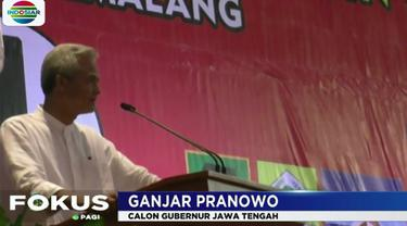 Dalam pidato politiknya, Ganjar kembali mengingatkan seluruh simpatisan dan kader koalisi partai, untuk menjaga komitmen