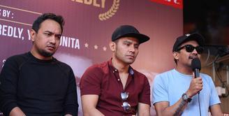 Dua musisi senior Tanah Air, Bebi Romeo dan Glenn Fredly mengeluarkan album baru. Duet langka terjadi itu diwujudkan dalam album kompilasi 'Bebi Romeo-Glenn Fredly'. (Nurwahyunan/Bintang.com)