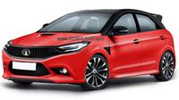 Rendering calon hatchback Tata Motors. (Rushlane)